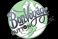 Bon Voyage Button Logo